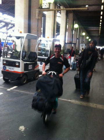 Arrivée Paris gare de Lyon